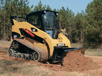 BOBCAT SERVICE/SKIDSTEER Idone Excavating and Levelling