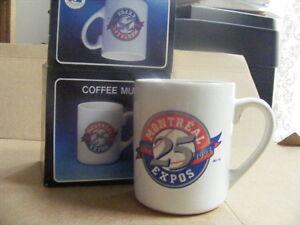 "FS: 1993 Montreal Expos ""25th. Anniversary"" Ceramic Mug"