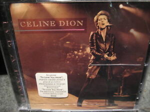 BRAND NEW CD - Celine Dion - Live A Paris