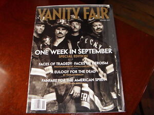 Vanity Fair November 2001  ONE WEEK IN SEPTEMBER Special Edition