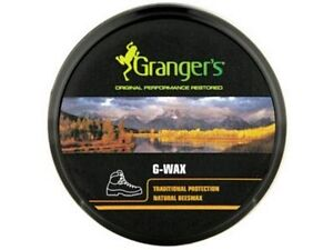 Grangers G-Wax Leather Bee's Wax/Dubbing/Polish/Water Proofer 80g tin Boots/Shoe