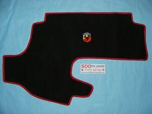Fiat 500 f l r epoca copri baule in moquette logo abarth for Moquette fiat 500 epoca