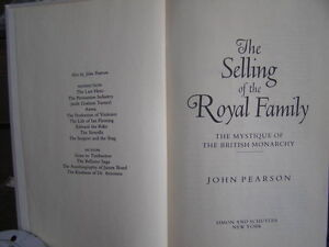 Book - Selling Of The Royal Family