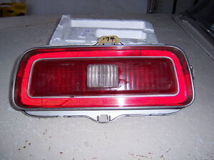 1974 Chevelle left tail lamp assembly