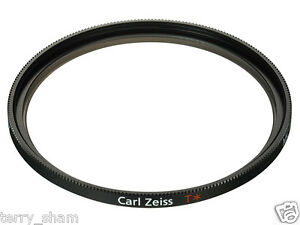 New-Unused-Sony-Carl-Zeiss-T-49mm-VF-49MPAM-UV-MC-Protector-Filter-With-Case