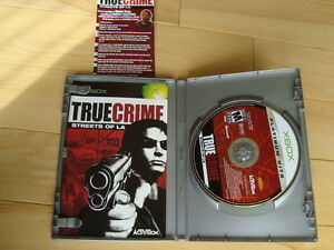 Xbox Game - True Crime -Streets Of LA  - Excellent Condition Kitchener / Waterloo Kitchener Area image 3