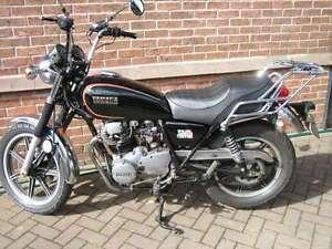 Housse de selle moto yamaha xs250 personnalis ebay for Housse moto yamaha
