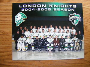 "FS: 2004-05 London Knights (OHL) ""Promo"" Team Photo London Ontario image 1"