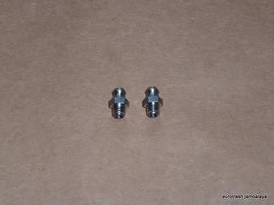 Ducati Twin Swingarm Zerk Set Stainless 750 860 900 Bevel Grease Nipple
