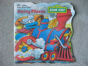 BRAND NEW - GOING PLACES SESAME STREET