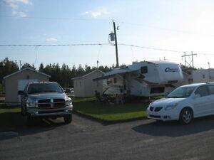 Terrain à louer pour roulotte ou motorisé