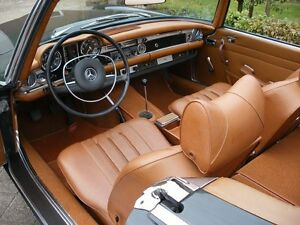 Mercedes Sl W113 230sl 250sl 280sl Leather Seat Covers Kit