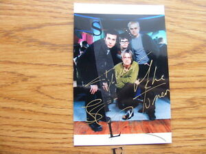 FS: Our Lady Peace (Rock N Roll Band) Autographed 4x6 Photos London Ontario image 1