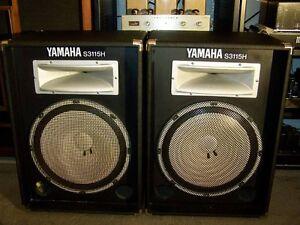 Yamaha S3115H PA Speakers, CONSIDERING TRADES Ottawa Ottawa / Gatineau Area image 2