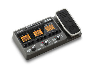 Zoom G3X Guitar Multi Effects Pedal And USB Audio Interface, with power supply.