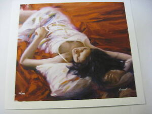'Sensual Beauty' Limited Edition Giclee on Art Paper By Vidan Strathcona County Edmonton Area image 2
