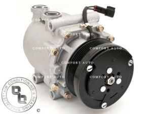 New-AC-A-C-Compressor-Fits-Ford-Mercury-Lincoln-V8-1-Year-Warranty-See-Chart