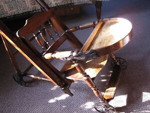 Antique Victorian, High feeding chair - Mint and rare! London Ontario image 4