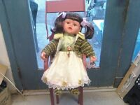 GOLDENVALE VINYL COLLECTORS DOLL reduced