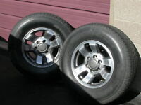 chev winter steel  rims/trolley hoist/misc items
