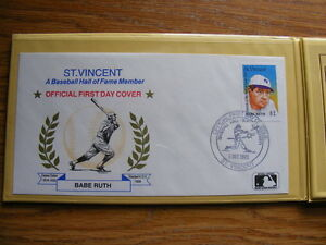 "FS: Major League Baseball ""Hall Of Fame Legends in 1st Day Cover London Ontario image 2"