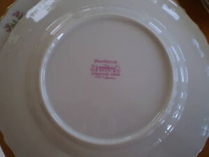 VINTAGE PORTLAND FEDERAL SHAPE SYRACUSE CHINA Windsor Region Ontario image 2