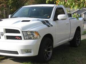 dodge ram hood stripes ebay. Black Bedroom Furniture Sets. Home Design Ideas