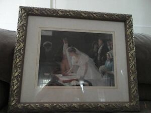 wedding print and a cat picture Sarnia Sarnia Area image 1