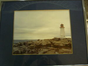FRAMED LIMITED EDITION LIGHTHOUSE BY SCISSONS