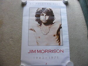 FS: Jim Morrison (The Doors) out-of-print Litho Sheets London Ontario image 2