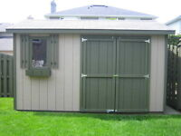 10x10 Garden Shed - Proudly  Built by Durham Sheds