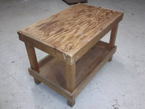 Table for sewing machines