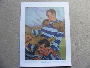 "FS: 1972 Prudential Collection ""1st Grey Cup Champions"" Print"