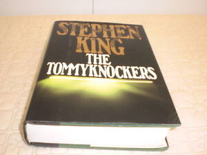 """Stephen King Book, """"The Tommyknockers"""""""