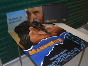 ManHunter Video/Movie Release Press Kit Poster