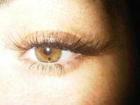 eyelash extensions: new customer? get a discount :)