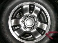 4runner 16'' rims/tires/ 15''x 7''steel chev rims