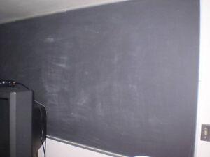 Black/ Chalk Boards/White Boards/Cork @ $20.00 per foot