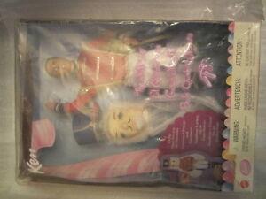 barbie's ken as  prince eric from nutcraker