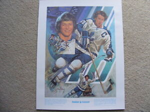 "FS: 1978 Darryl Sittler Prudential ""Great Moments"" Sheet London Ontario image 1"