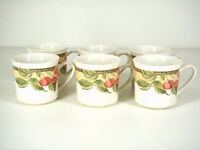Gibson - Tea Cups (Set of 6)