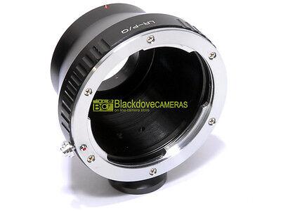 Anello adapter per ottiche Leica R su corpi Pentax Q con innesto treppiedi.