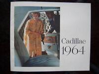 1964 Cadillac showroom catalog