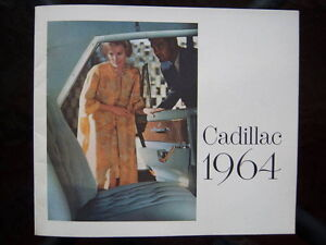 1964 Cadillac showroom catalog