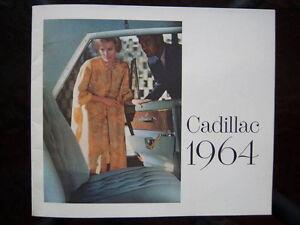 1964 Cadillac showroom catalog London Ontario image 1