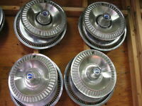 1963, 1964, FORD GALAXIE HUBCAPS (4)  in VERY GOOD CONDITION