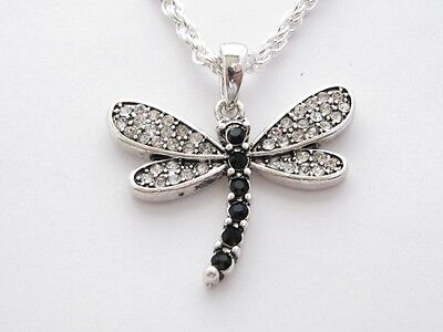 Dragonfly Crystal Fashion Necklace Jewelry
