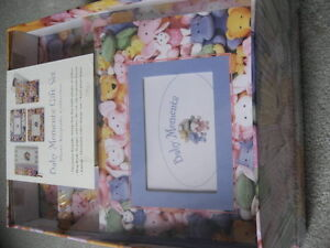 BRAND NEW - Baby Moments Gift Set - Photo Keepsake Collection