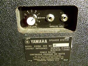 Yamaha S3115H PA Speakers, CONSIDERING TRADES Ottawa Ottawa / Gatineau Area image 4