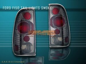 1997 2003 ford f150 f 150 tail lights smoke 2002 2001 new tail lights. Black Bedroom Furniture Sets. Home Design Ideas